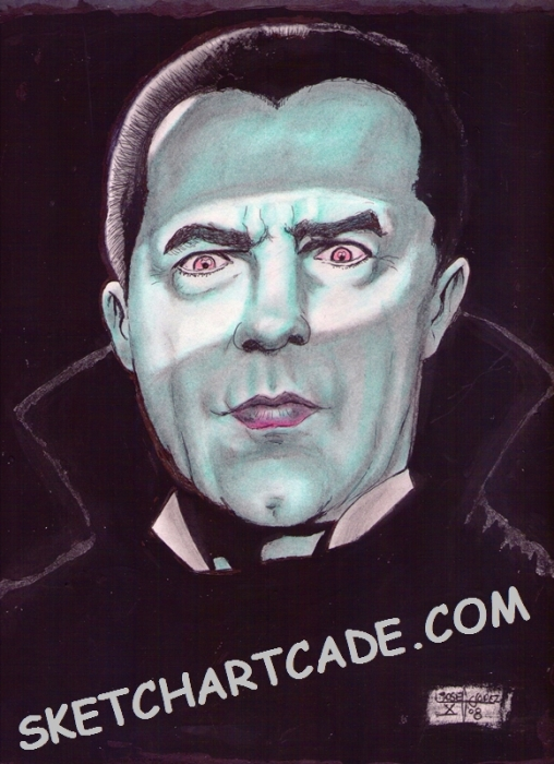 Bela Lugosi por sketchartcade